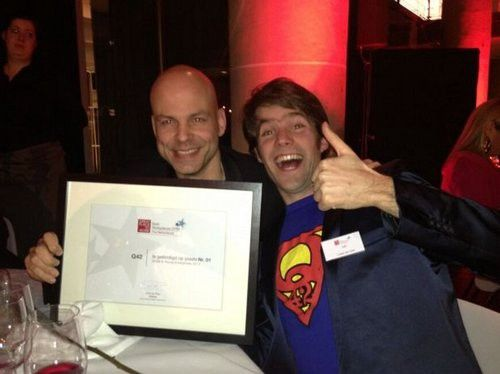 Q42 is de Best Place To Work in Nederland