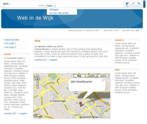 Web in de Wijk