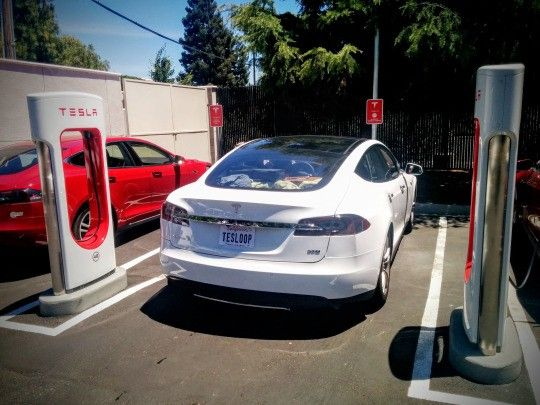Book a ride in a Tesla Model S with Tesloop