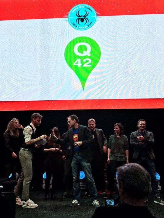Q42 wint Grand SpinAward