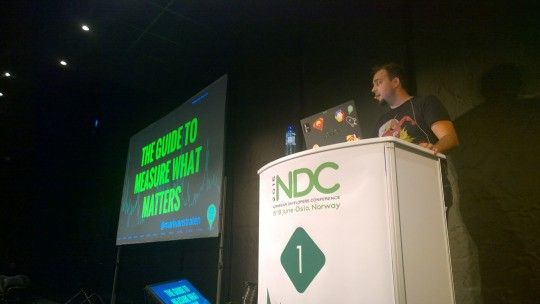 Speaking at NDC Oslo 2015